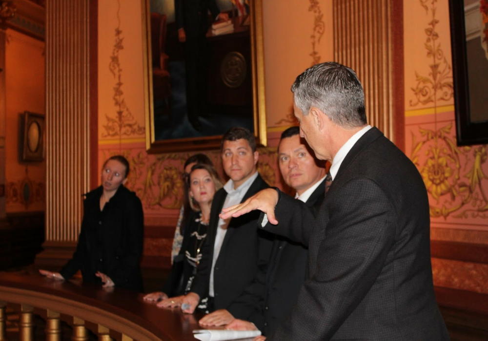 A photo of MAPSA President Dan Quisenberry.