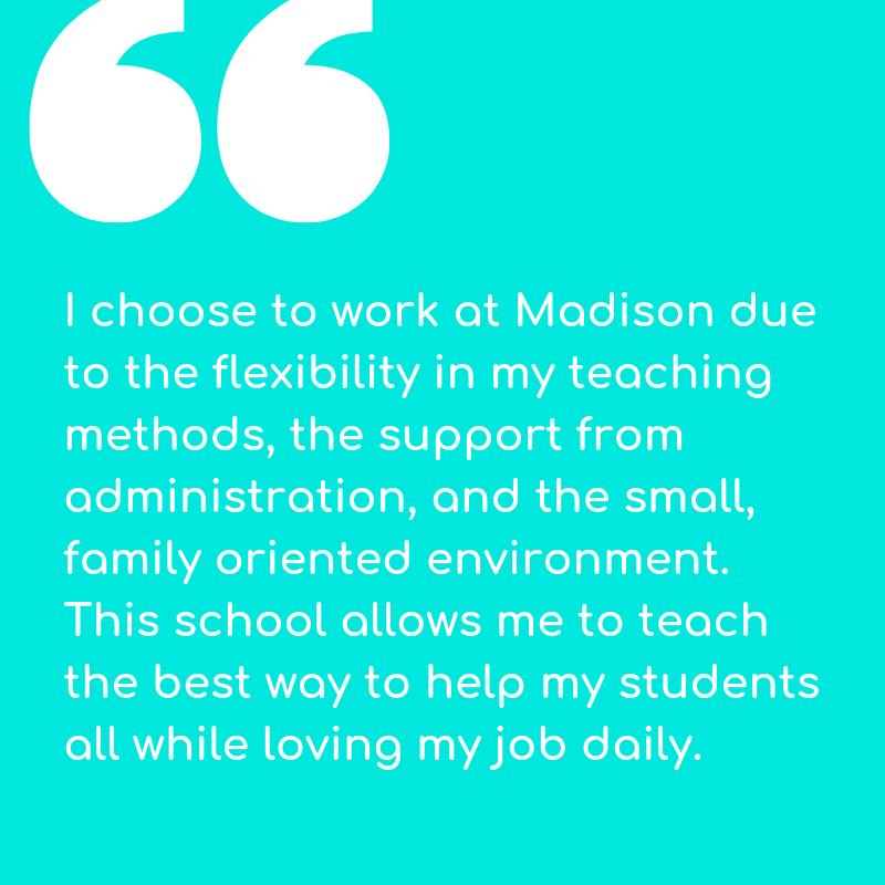 Jenna Flynn, Madison Academy