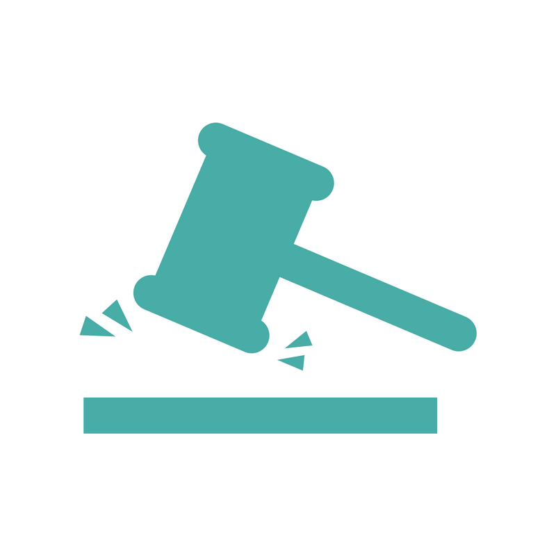 An icon of a gavel.