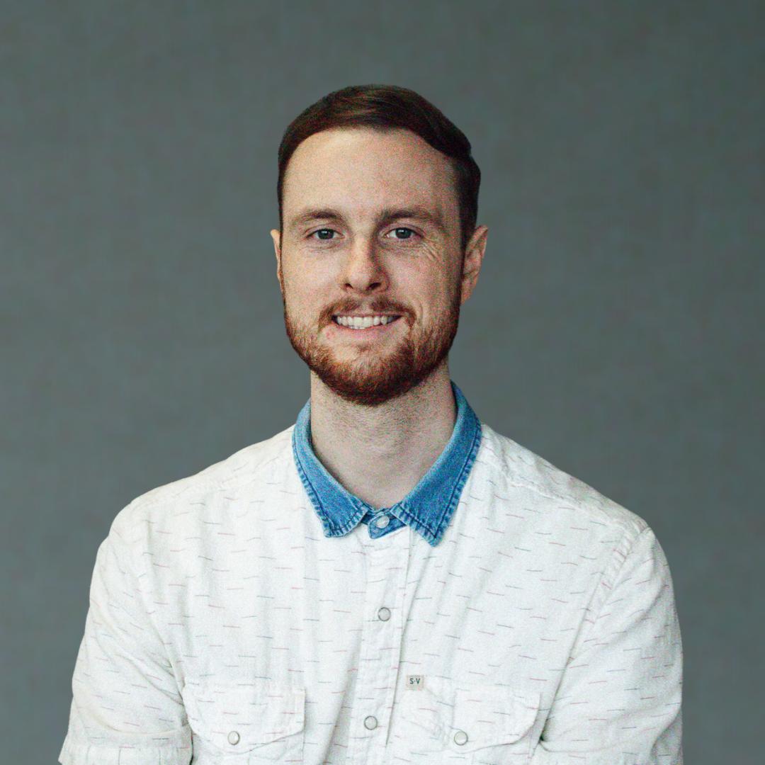 A headshot of 2021 TOY finalist, Jordan Dischinger-Smedes.