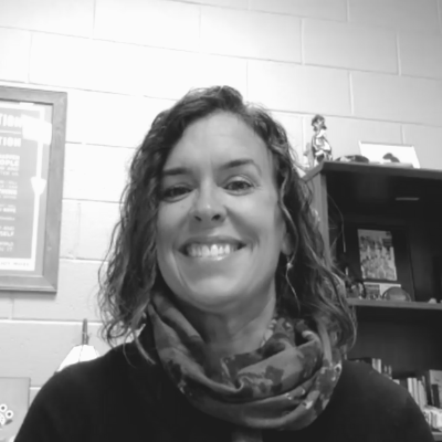 A photo of 2020 Michigan Charter Schools AOY finalist, Lisa Bergman.