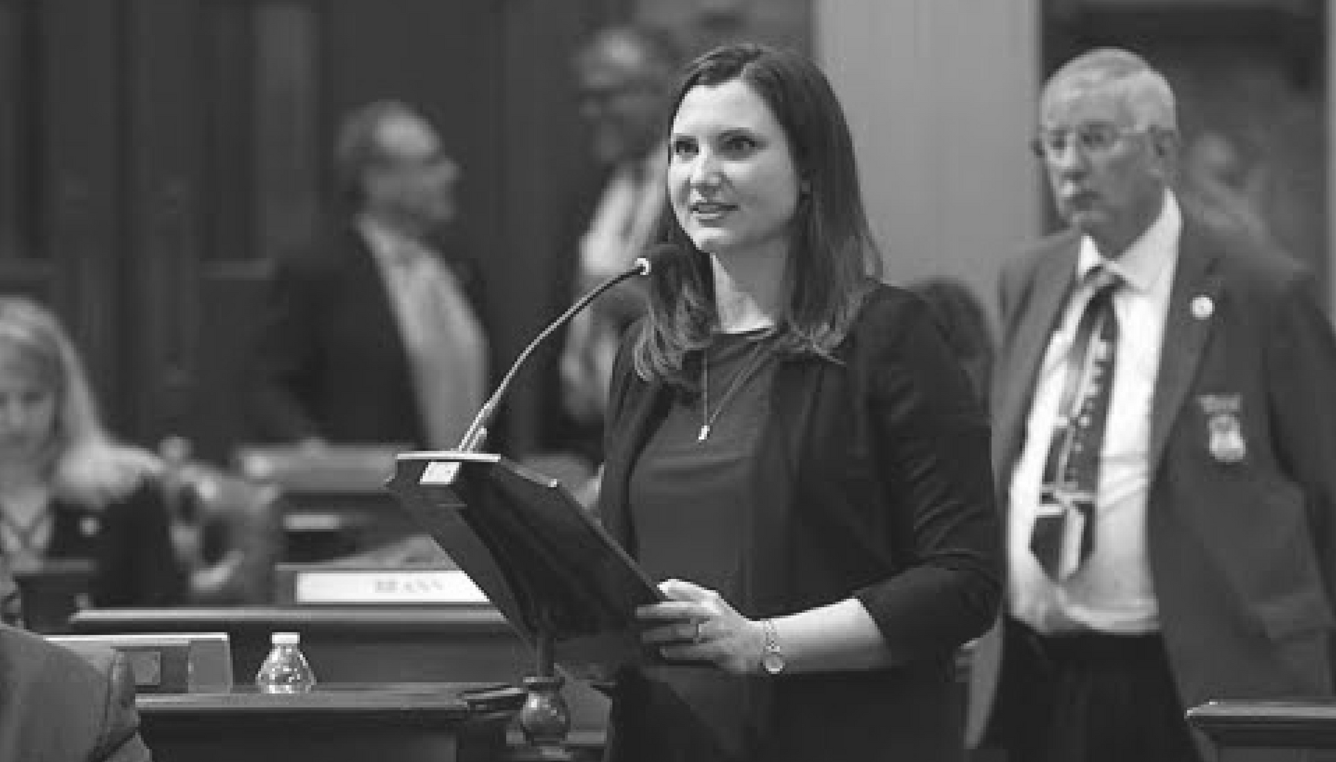 A photo of Kristy Pagan, who represents the 21st District in the Michigan House of Representatives.