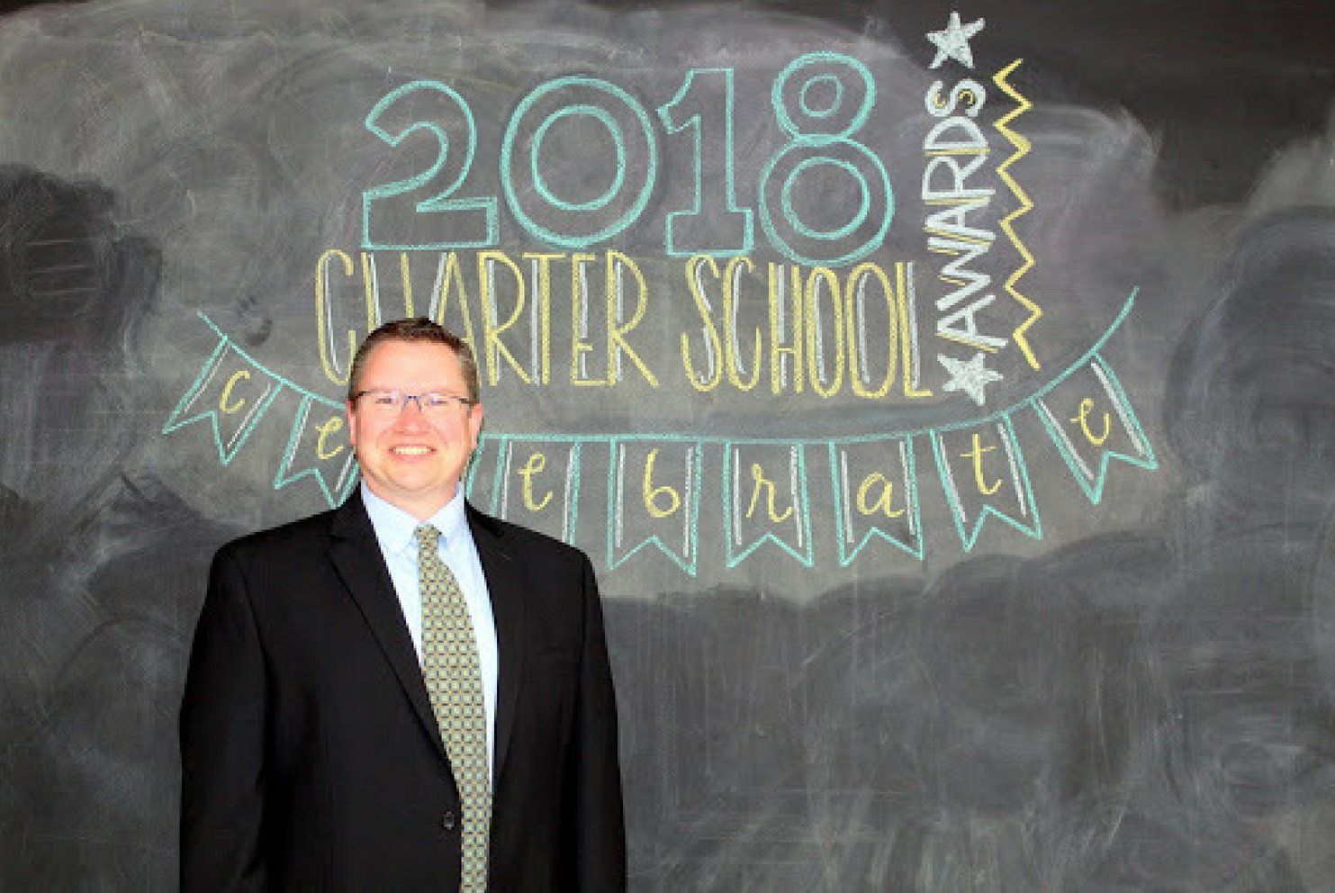 A photo of Bill Kraly, 2018 Charter School Admin of the Year finalist.
