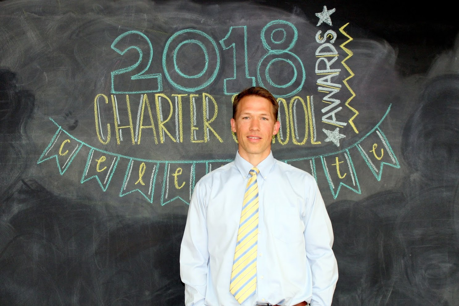 A photo of Joe Griffith, 2018 Charter School Teacher of the Year finalist.