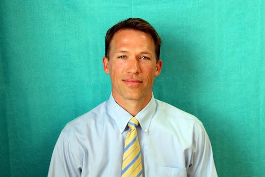 A photo of Joe Griffith, 2018 Charter School Teacher of the Year finalist.