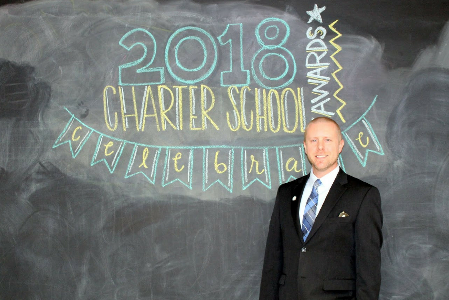A photo of Jim Levering, 2018 Admin of the Year finalist.
