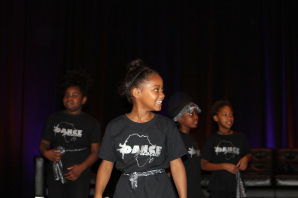 One of several student performances at the 2017 Michigan Charter School Symposium.