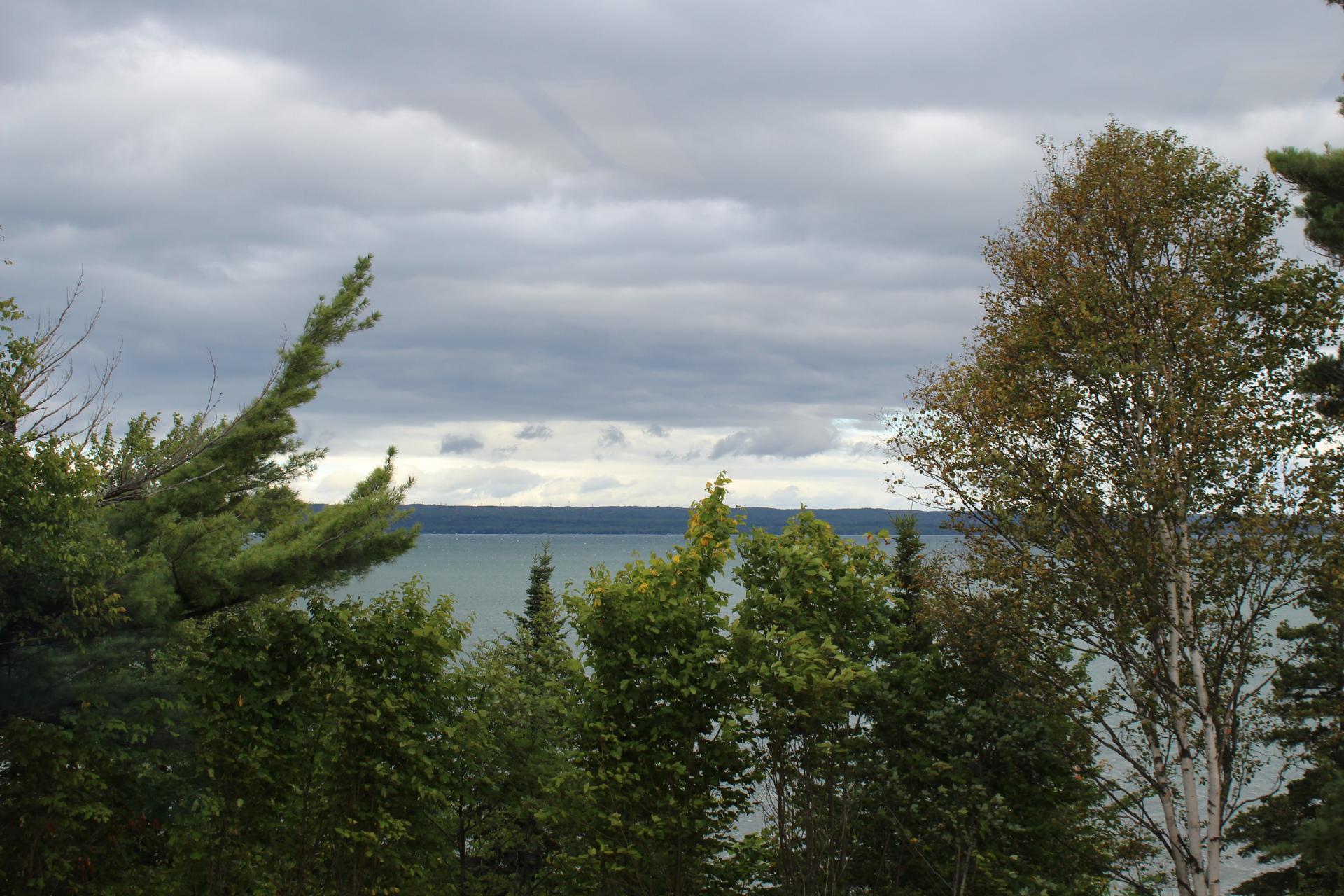 A photo of scenic Lake Superior.