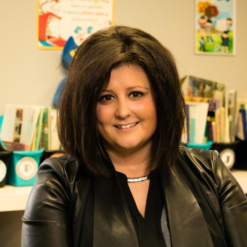 A photo of charter school teacher Emily Sauer.