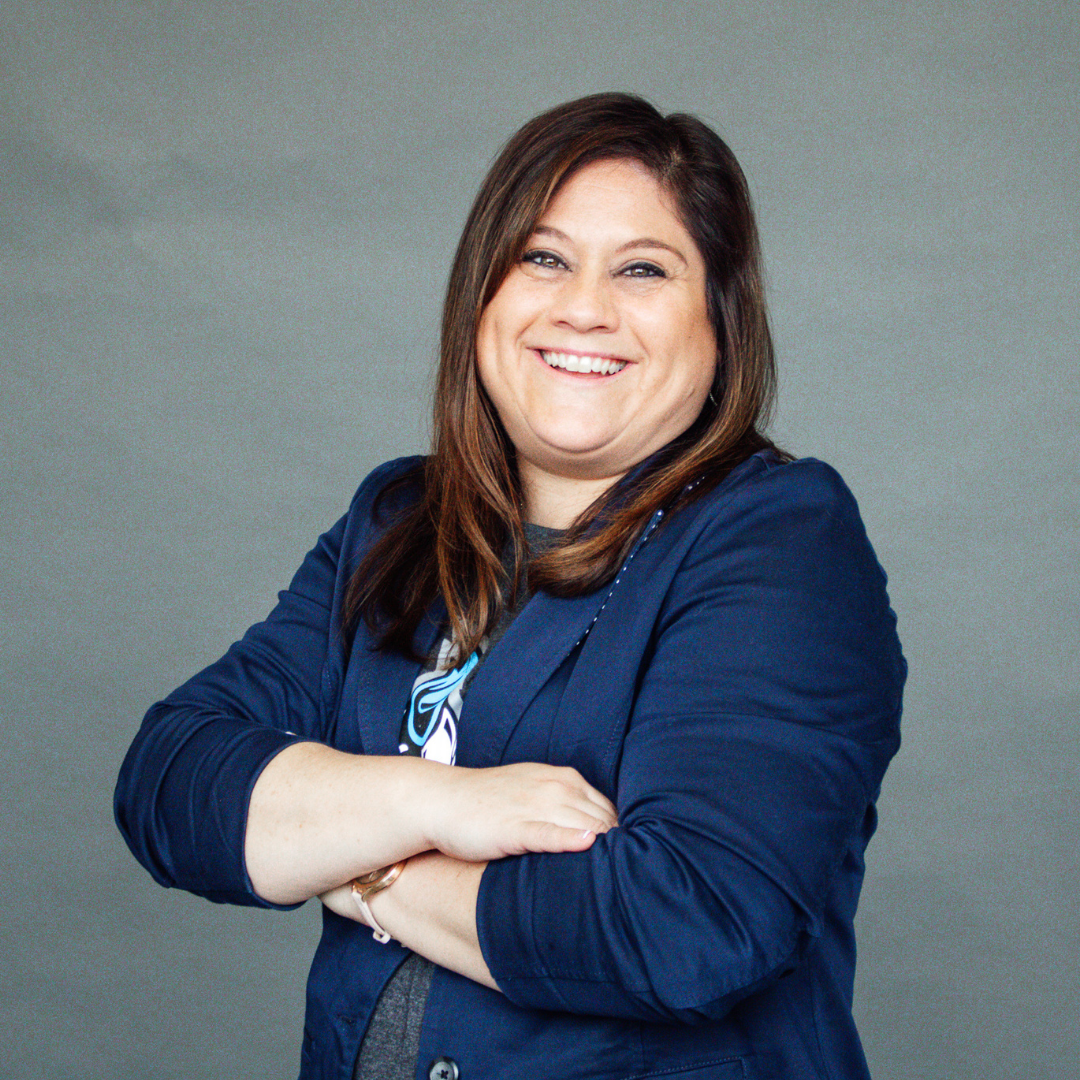A headshot of Kelly Osterhout, Principal at Quest Academy